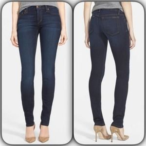 Joe's Jeans Flawless Skinny Mid-Rise Suzanne Wash
